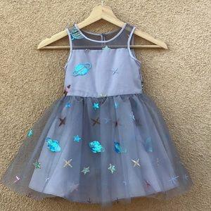 Pippa & Julie Thule Sequin Planetarium Dress Size